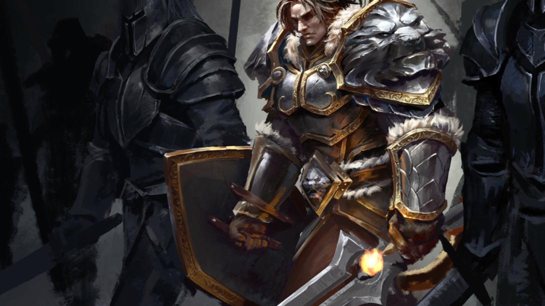 《魔兽世界》玩家作品赏: 瓦王绘制过程全记录